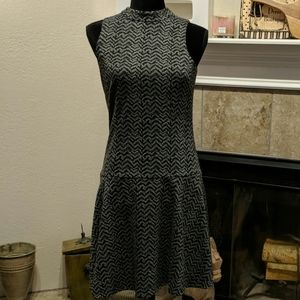 Antonio Melani black and gray dress